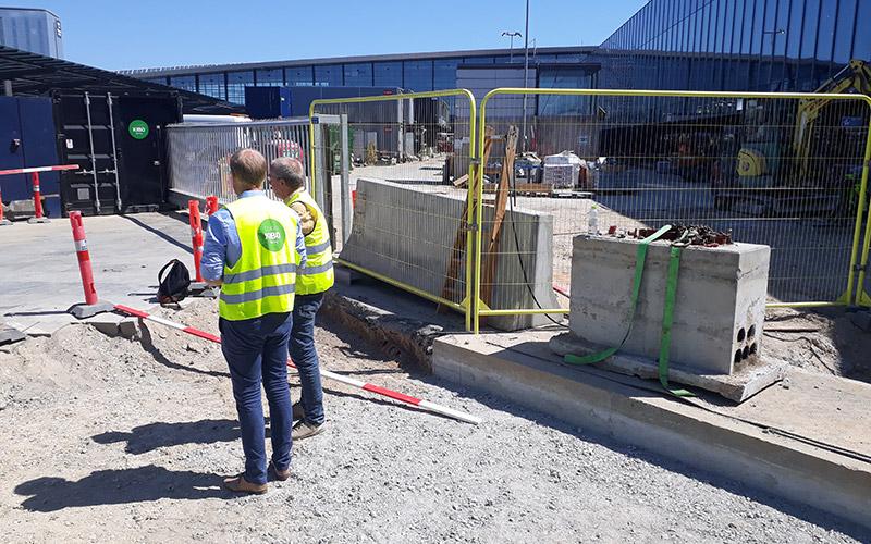 Mobile Gate bei Flughafen Kopenhagen