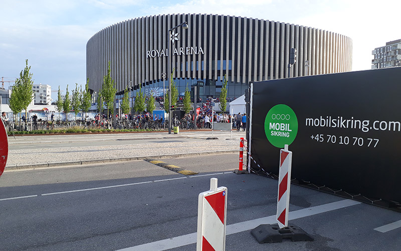 Mobile Gate bei Eishockey-WM 2018